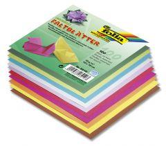 Origamiblaadjes 10 x 10 cm 100 stuks assortiment