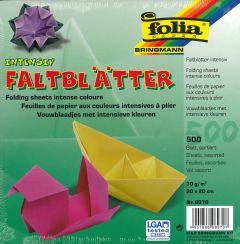 Origamiblaadjes 20 x 20 cm 500 stuks assortiment