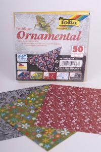 Origamiblaadjes 10 x 10 cm 50 stuks Ornamental