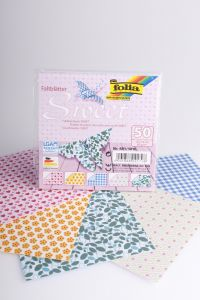 Origamiblaadjes 10 x 10 cm 50 stuks Sweet