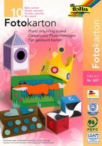 Fotokarton 300 g A3, 10 stuks 10 kleuren