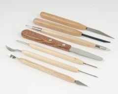 Gereedschapsset voor keramiek 7 stuks (>4 messen)