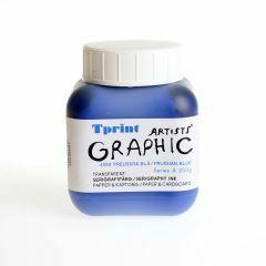 Zeefdrukinkt voor papier 250 g Pruissisch blauw