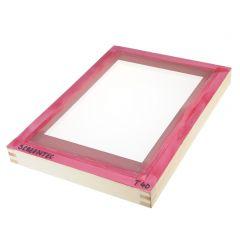 Houten zeefdrukscherm raster 40,30x42cm/17x28cm (oa textiel)