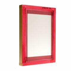 Houten zeefdrukscherm raster 80, 30 x 42cm/17 x 28cm (oa papier)
