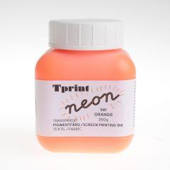 Zeefdrukinkt voor textiel 250 g fluo-oranje