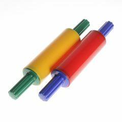 Roller 17,5 cm voor plasticine in plastic