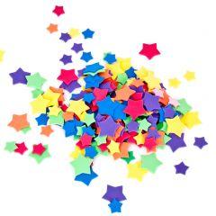 Rubber sterren assortiment 200 stuks