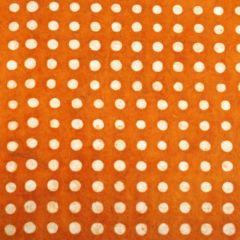 Lokta stippen oranje/wit 50 x 75 cm