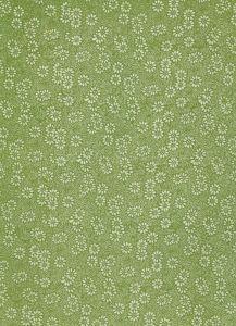 Lokta bedrukt bloemen klein 50 x 75 cm groen