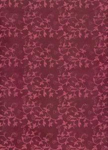Lokta Liberty 50 x 75 cm donkerrood+roze