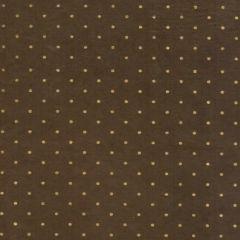Lokta Polka Dot metal. 50 x 75 cm bruin/goud