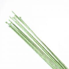 Draad omwikkeld 0,55 mm 50 cm 12 stuks groen