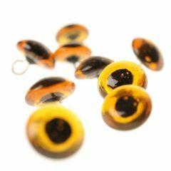 Dieren-naai-ogen glas bruin 12 mm 10 stuks