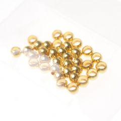 Knijpkraal 2,5 mm 45 stuks goud