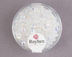 Facetparel 4 mm 100 stuks kristal