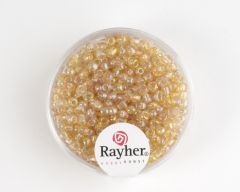 Glasparel 2,6 mm 17 g goud transparant lustré