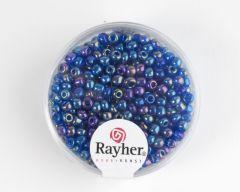 Glasparel 2,6 mm 17 g donkerblauw transparant lustré