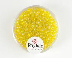 Glasparel 2,6 mm 17 g geel transparant lustré