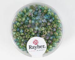 Glasparel 2,6 mm 17 g groen transparant lustré