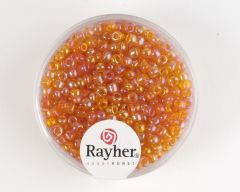 Glasparel 2,6 mm 17 g oranje transparant lustré