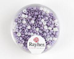 Glasparel 2,6 mm 17 g assortiment lila parelmoer