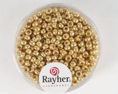Glasparel 2,6 mm 17 g goud parelmoer