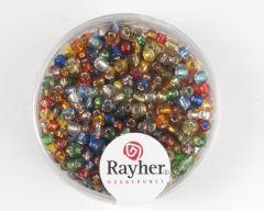 Glasparel 2,6 mm 17 g assortiment met zilverkern