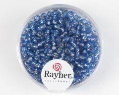 Glasparel 2,6 mm 17 g lichtblauw met zilverkern