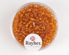 Glasparel 2,6 mm 17 g oranje met zilverkern