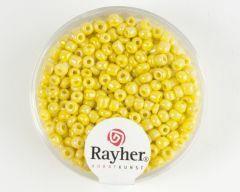 Glasparel 2,6 mm 17 g geel opaak lustré
