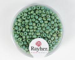 Glasparel 2,6 mm 17 g groen opaak lustré