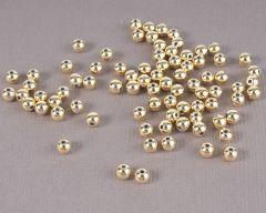 Parel 4 mm 80 stuks goud