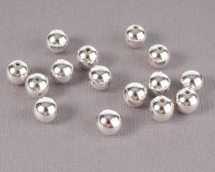 Parel 8 mm 15 stuks zilver