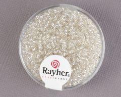 Glasparel 2 mm 17 g zilver met zilverkern