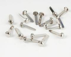 Splitpen 18 stuks 6 mm zilverkleurig