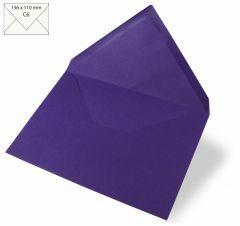 Omslag A6, 156 x 110 mm 90 g 5 stuks violet