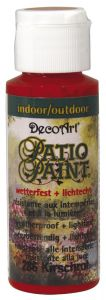 Patio Paint 59 ml kersenrood