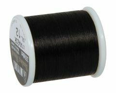 Rijgdraad voor delica 0,27 mm 50 m zwart
