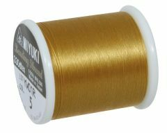 Rijgdraad voor delica 0,27 mm 50 m goud