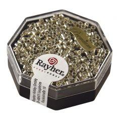Glasparel Delica 2,2 mm 4 g metallic zilver