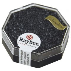 Glasparel Delica 2,2 mm 7g metallic mat blauwgrijs