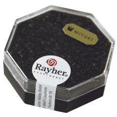 Glasparel Delica 2,2 mm 7 g metallic mat zwart