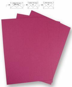 Papier A4 220 g 5 stuks fuchsia