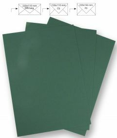 Papier A4 220 g 5 stuks donkergroen
