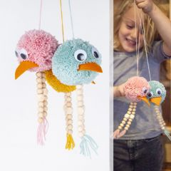 Creapakket Swingende pomponvogels