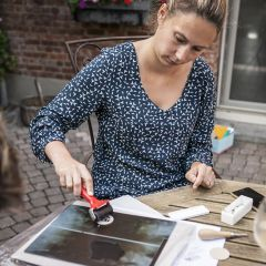 DIY-workshopdoos: Lino prints