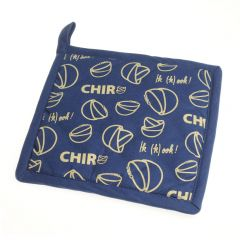 Pannenlap Chiro Fairtrade blauw