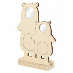 Fotokader duo 21 x 12,5 cm beren