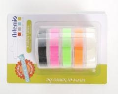 Labelmaker tape 5 x 2 m 9 mm breed fluo